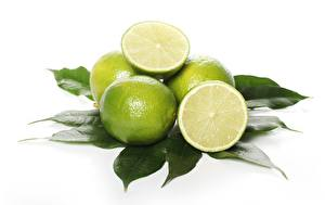 Wallpaper Lime White background