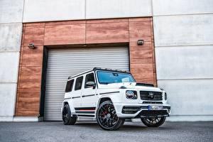 Bilder Mercedes-Benz G-Klasse Tuning Weiß Lumma Design, CLR G770