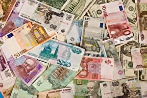 Bilder Geld Textur Geldscheine Rubel Euro