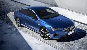Fonds d'écran Opel Bleu 2020 Insignia Grand Sport