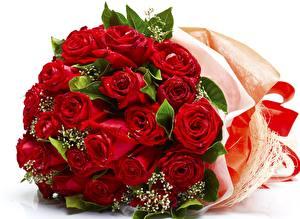 Bilder Rose Sträuße Rot