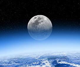 Fotos Himmel Stern Nacht Mond Kosmos