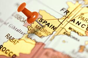 Bakgrunnsbilder Spania Madrid Geografi Globus