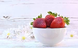 Bilder Erdbeeren Schüssel