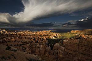 Fotos Vereinigte Staaten Park Berg Sonnenaufgänge und Sonnenuntergänge Bryce Canyon National Park in Utah