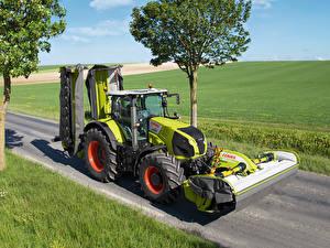 Bilder Landwirtschaftlichen Maschinen Traktoren 2013-20 Claas Axion 850