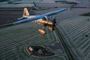 Bilder Flugzeuge Flug Westland Lysander Mk.IIITT Luftfahrt