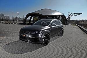Bilder Audi Fahrzeugtuning Schwarz Softroader Q7, Fostla, Quattro, TDI, 2012 auto