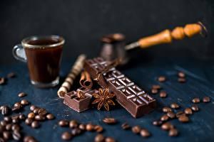 Bilder Schokolade Kaffee Getreide Cezve Lebensmittel
