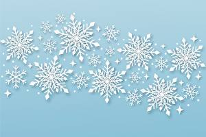 Images Christmas Snowflakes Nature