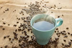 Bilder Kaffee Getreide Becher Dampf das Essen