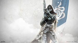 Photo Destiny 2 Warriors Hood headgear Helmet Armor Games