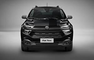 Hintergrundbilder Fiat Vorne Schwarz Toro Black Jack 2017 auto