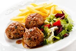 Images Rissole Salads Potato Three 3