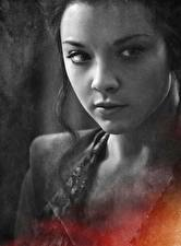 Pictures Game of Thrones Natalie Dormer Closeup Face Margery Tyrell Celebrities Girls