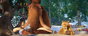 Fotos Ice Age – Kollision voraus! Mammute 3D-Grafik