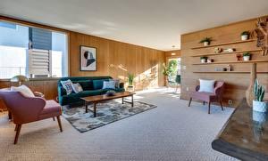 Fotos Innenarchitektur Zimmer Wohnzimmer Sessel Kissen Sofa Design