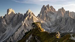 Fotos Italien Berg Alpen Dolomite Alps Natur