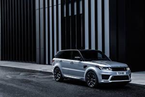 Fondos de escritorio Land Rover Crossover Plata color 2019 Sport HST Worldwide autos