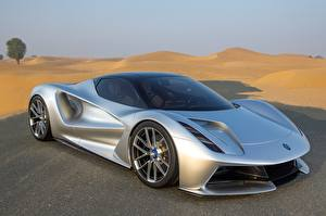 Image Lotus Silver color Metallic Evija, 2020 automobile
