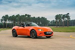 Hintergrundbilder Mazda Roadster Metallisch MX-5, 30th Anniversary Edition, 2019 Autos