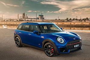 Bilder Mini Blau 2019-20 John Cooper Works Clubman Autos