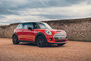 Wallpapers Mini Red Metallic 2020 Cooper SE Level 3
