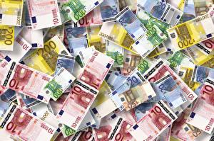 Hintergrundbilder Geld Papiergeld Euro Textur 10 50 100 200