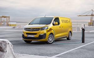 Bilder Opel Gelb Ein Van 2020 Vivaro-e
