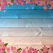 Picture Painting Art Wood planks Template greeting card