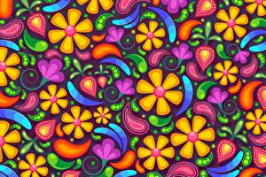 Fotos Textur Blüte