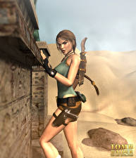 Image Tomb Raider Tomb Raider Legend Lara Croft 3D_Graphics Girls