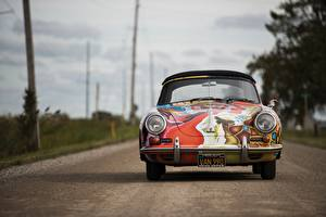 Image Tuning Antique Porsche Front 1964 356 Cars
