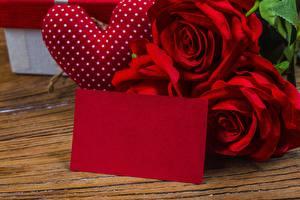 Fotos Valentinstag Rosen Vorlage Grußkarte Blumen