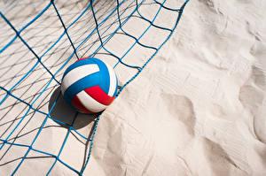 Bilder Ball Sand Sportnetze volleyball sportliches
