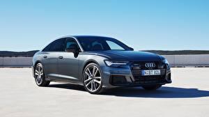 Bilder Audi Metallisch Limousine Quattro, S-Line, A6, 2019, 55 TFSI Autos