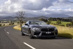 Photo BMW Roads Motion Coupe Grey Metallic M8 Competition, 2020, AU-version Cars