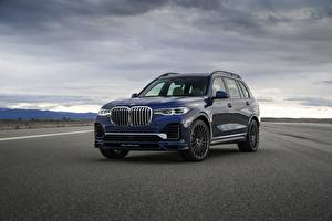 Images BMW Blue Metallic CUV Asphalt X7, G07, Alpina, 2020 automobile