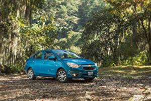 Fotos Chevrolet Hellblau Metallisch 2018-20 Aveo Autos