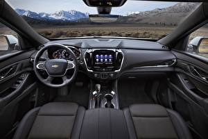 Image Chevrolet Salons Interior Crossover High Country, Traverse, 2021 automobile