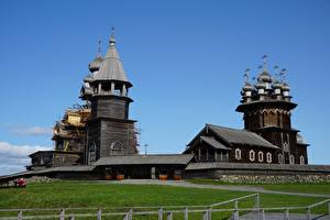 Pictures Church Russia Museums Wooden Kizhi, Karelia