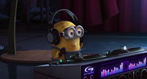 Bilder Ich – Einfach Unverbesserlich 2 Minions Brille Kopfhörer DJ