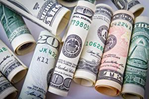 Bilder Dollars Geld Viel Geldscheine