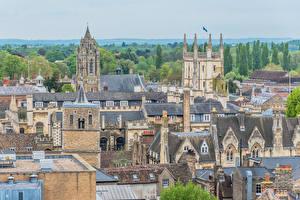 Bilder England Gebäude Dach Cambridge