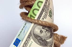 Bilder Euro Dollars Geld Papiergeld