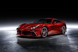 Fotos Ferrari Tuning Rot Metallisch Coupe Mansory, Berlinetta, F12, 2013, La Revoluzione