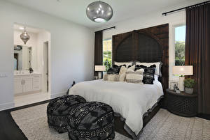 Wallpapers Interior Design Bedroom Bed