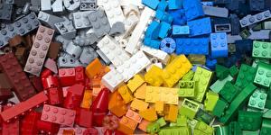 Fotos Viel Mehrfarbige LEGO, constructor