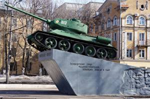 Image Monuments T-34 Russia Side Kirov