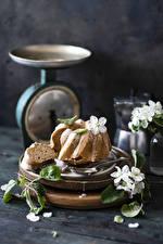 Обои для рабочего стола Кекс Сахарная глазурь Натюрморт Еда
